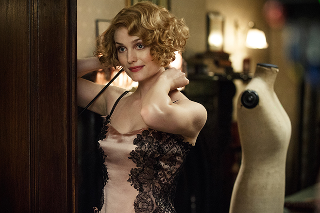 "Alison Sudol as Queenie Goldstein, who she describes as ""a delightful human being."""