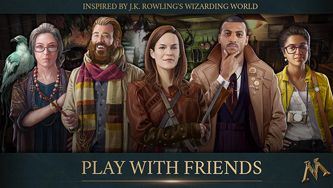 Fantastic Beasts Cases From the Wizarding World: Play with Friends!