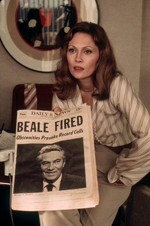 faye dunaway in 1976's network