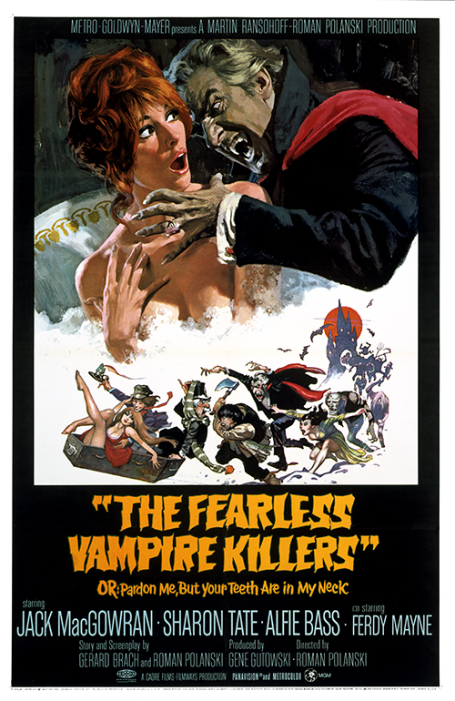 Fearless Vampire Killers poster art