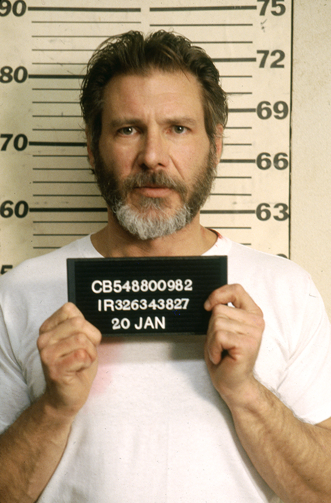 The Fugitive - Richard Kimble Mugshot