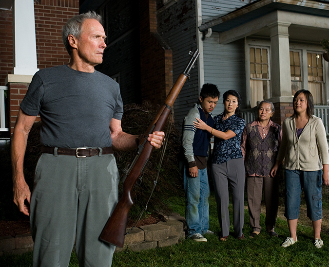 Gran Torino highest-grossing movie as an actor Clint Eastwood