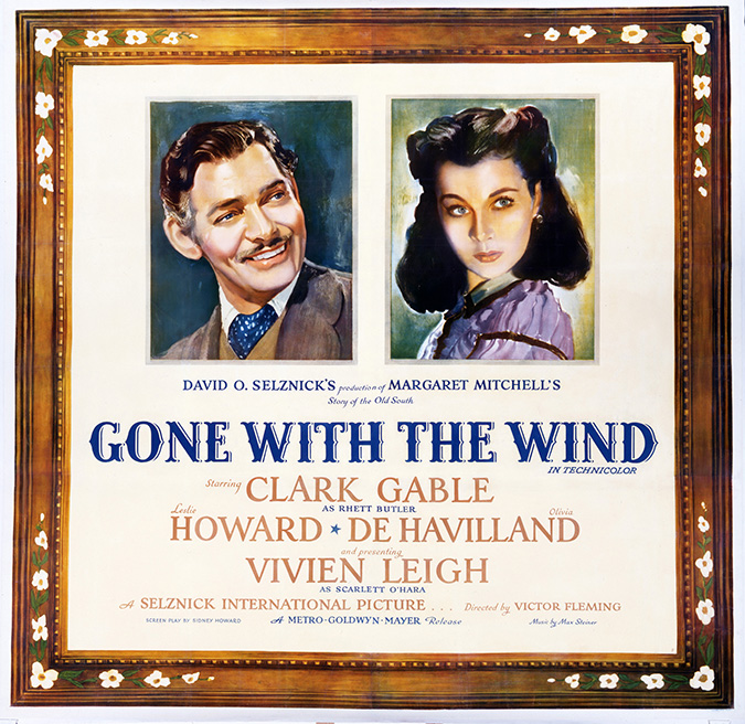 Gone with the Wind six sheet poster