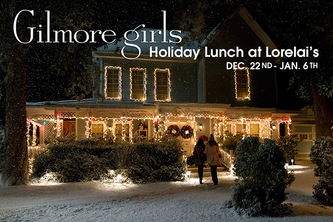 Studio Tour Hollywood - Gilmore Girls Holiday Lunch