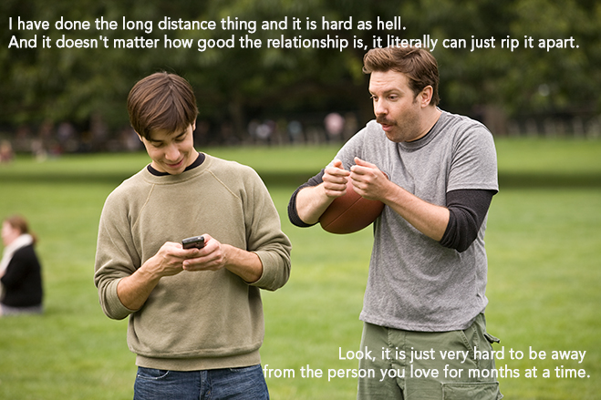 justin long and jason sudeikis in going the distance