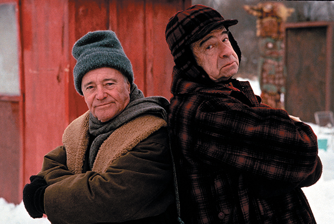 jack lemmon and walter matthau star in grumpy old men