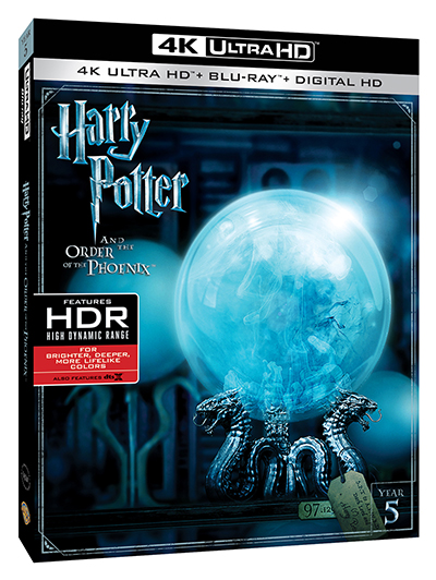 harry potter and the order of the phoenix 4k poster