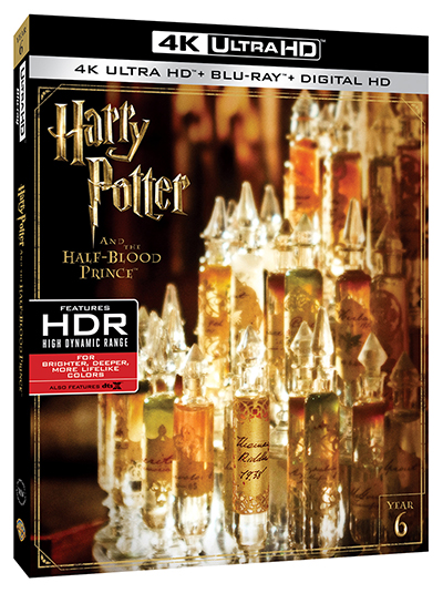 harry potter and the half-blood prince 4k poster