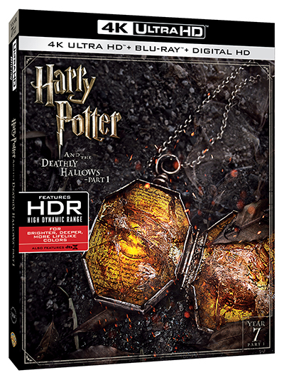 harry potter and the deathly hallows part 1 4k poster