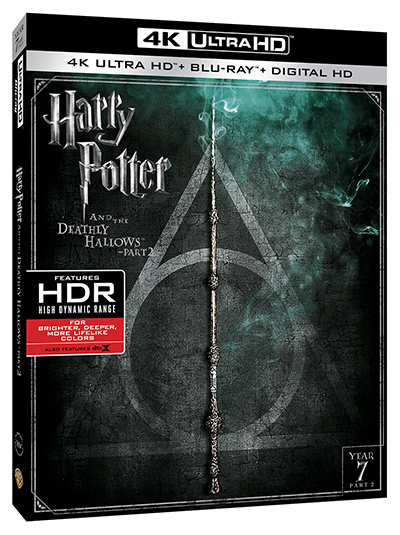 harry potter and the deathly hallows part 2 4k poster