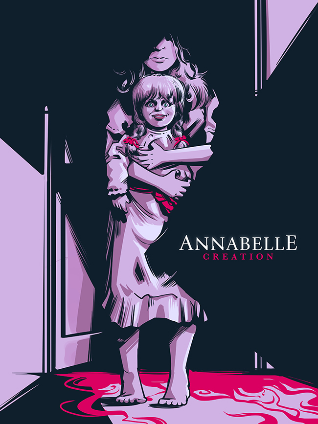 Heber Villar Liza's winning entry in the Annabelle: Creation Artwork Contest