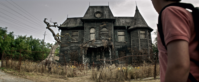 """A scene from New Line Cinema's horror thriller """"IT,"""" a Warner Bros. Pictures release."""