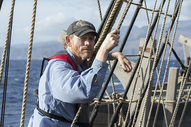ron howard in the heart of the sea