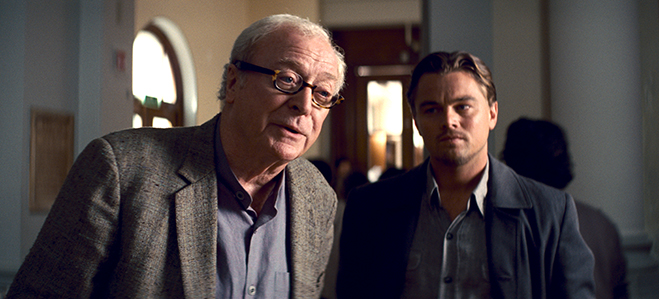 Michael Caine plays Professor Stephen Miles, the father-in-law of Leonardo DiCaprio's Cobb in Christopher Nolan's dream-stealing epic, Inception.