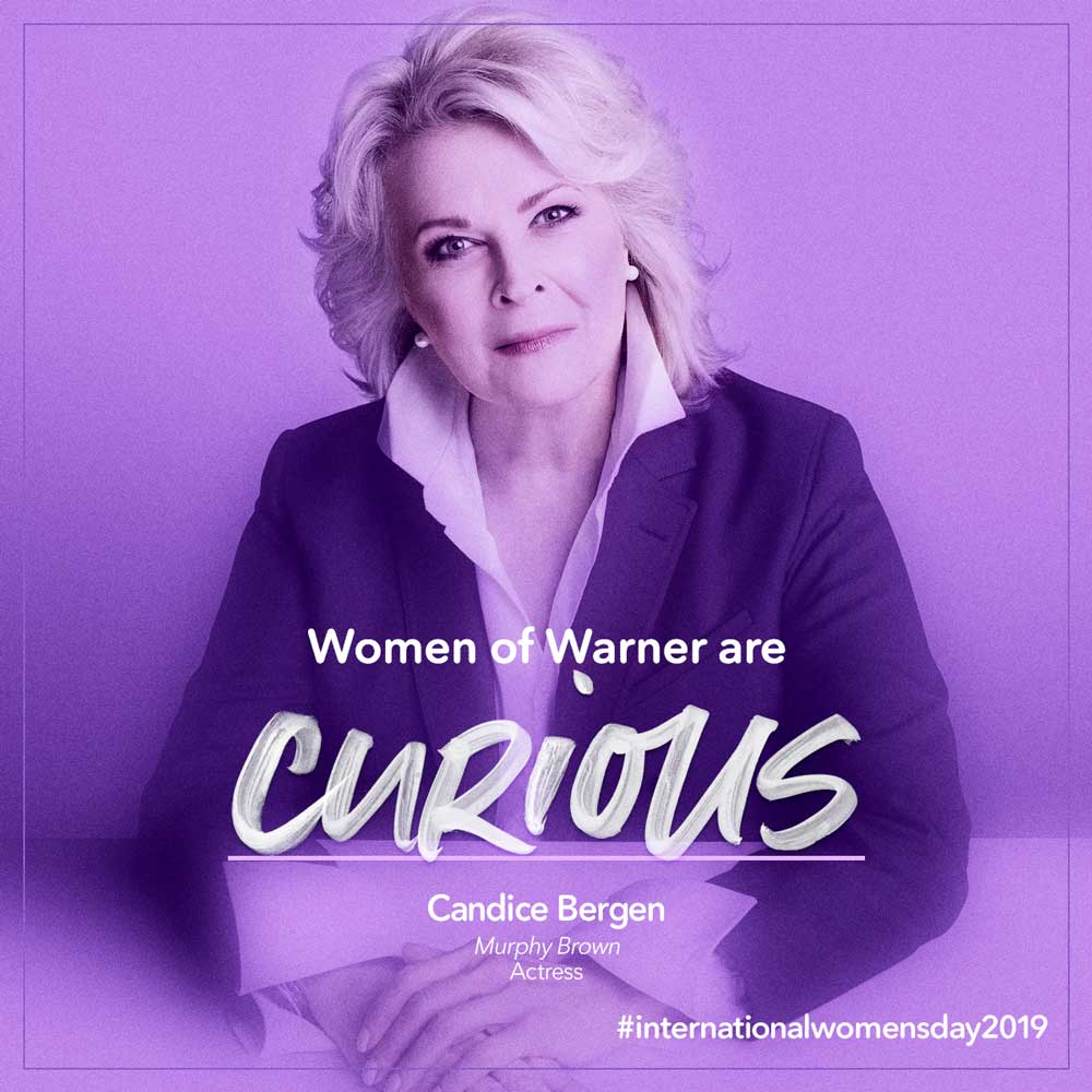 Intl Womens Day - Candice Bergen