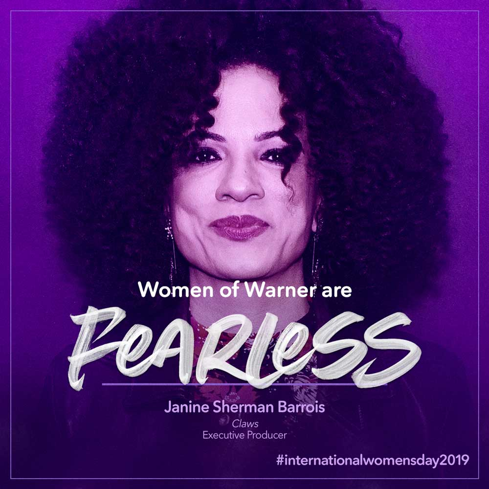 Intl Womens Day - Janine Sherman Barrois