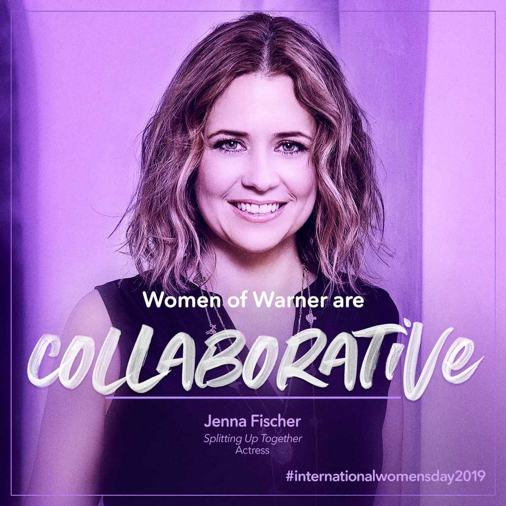 Intl Womens Day - Jenna Fischer