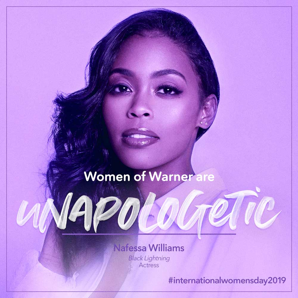 Intl Womens Day - Nafessa Williams
