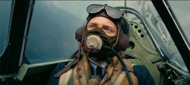 jack lowden in the cockpit