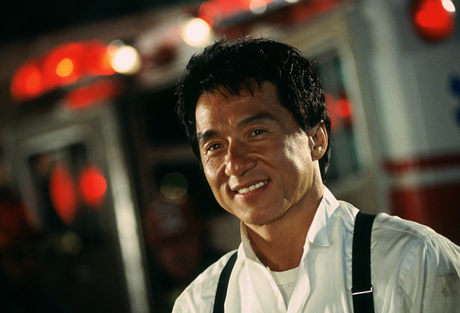 jackie chan in 1998's rush hour