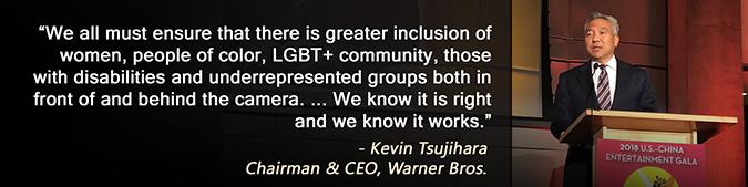 Kevin Tsujihara - Diversity Quote