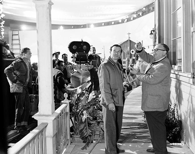 Cinematographer Karl Freund