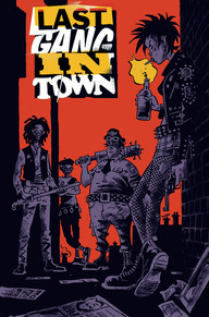 Last Gang in Town cover art