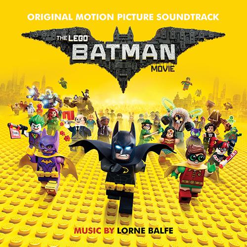 the lego batman movie soundtrack album cover