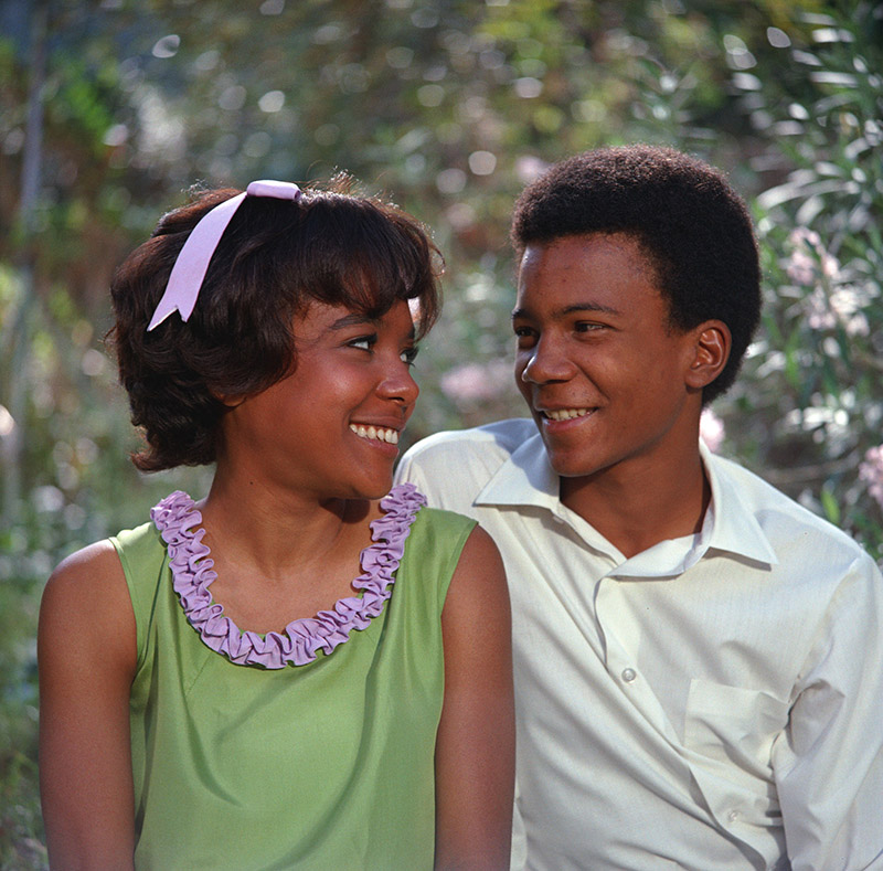 The Learning Tree - Mira Waters (Arcella Jefferson) and Kyle Johnson (Newt Winger)
