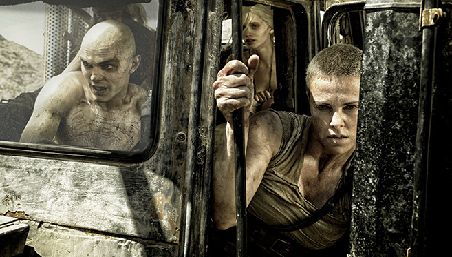 Mad Max Fury Road - Best Motion Picture Golden Globe Nominee