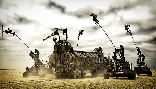 Best Stunt Ensemble nominee Mad Max Fury Road