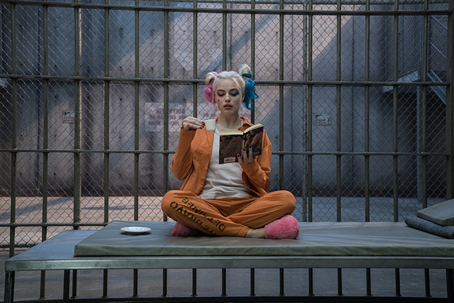 margot robbie stars as harley quinn in suicide squad