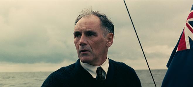 "Mark Rylance as Mr. Dawson in Christopher Nolan's ""Dunkirk"""