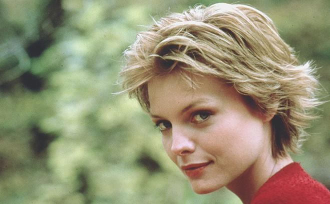michelle pfeiffer in 1985's ladyhawke
