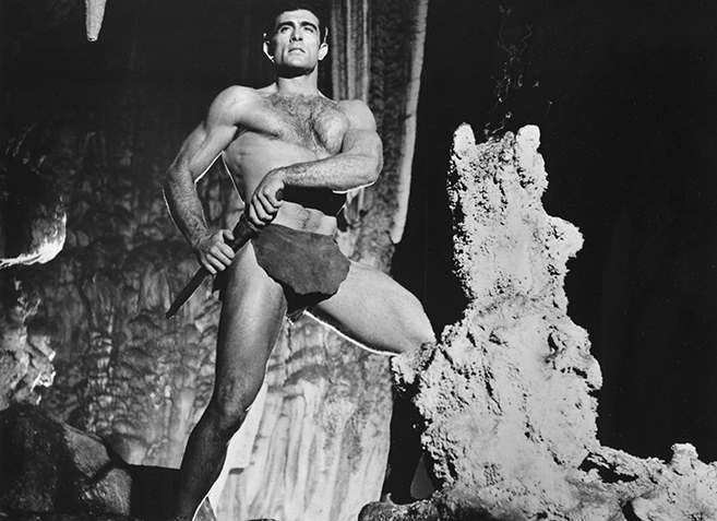 mike henry as tarzan in 1966's Tarzan and the Valley of Gold