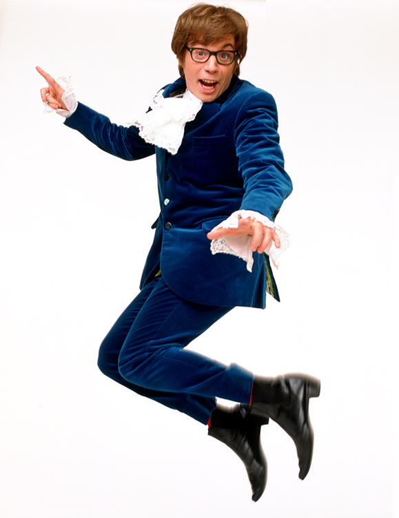mike myers in 1999's austin powers: international man of mystery