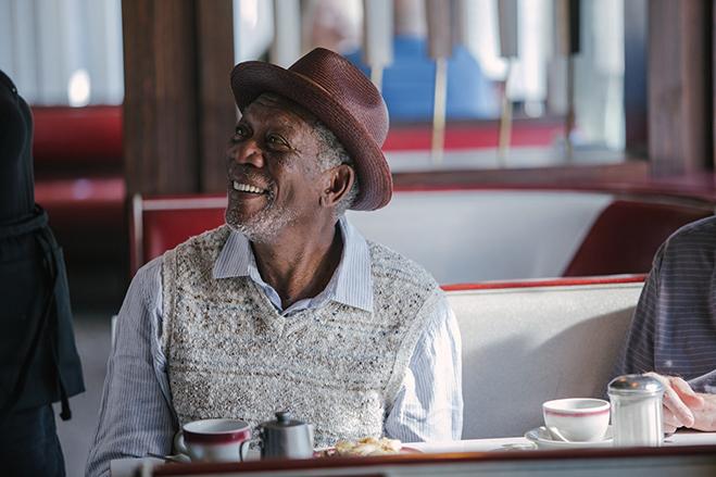 Morgan Freeman stars in Going in Style