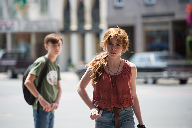 "Sophia Lillis as Beverly Marsh, who screenwriter David Dauberman calls his favorite character: ""I think she's the heart of the Losers."""