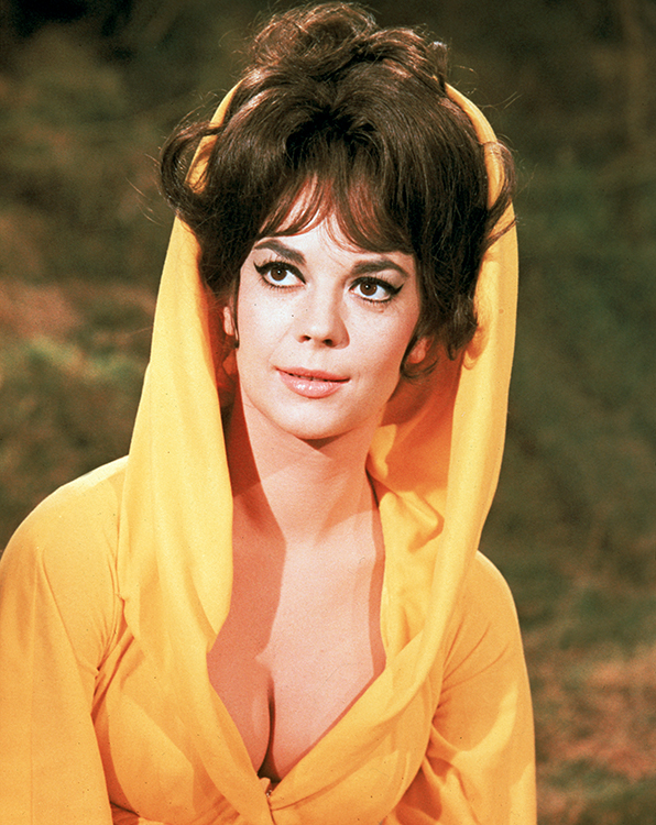 natalie wood pictured in the great race