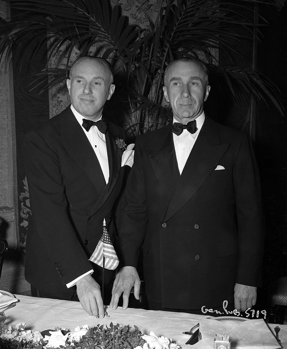 Confession of a Nazi Spy - Jack Warner and Harry Warner