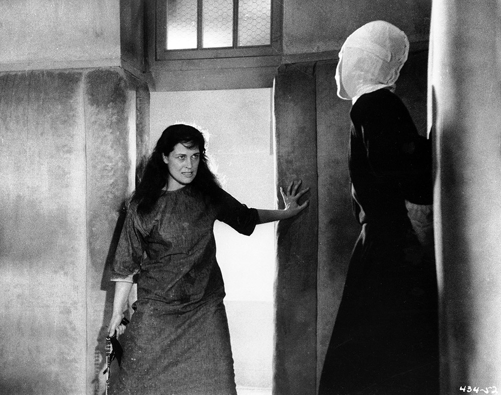 The Nun's Story - Archangel Gabriel and Sister Luke (Colleen Dewhurst and Audrey Hepburn)