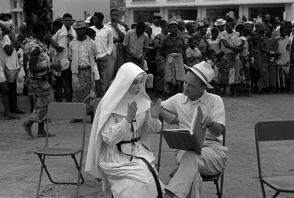 The Nun's Story - Audrey Hepburn, Fred Zinnemann in Congo