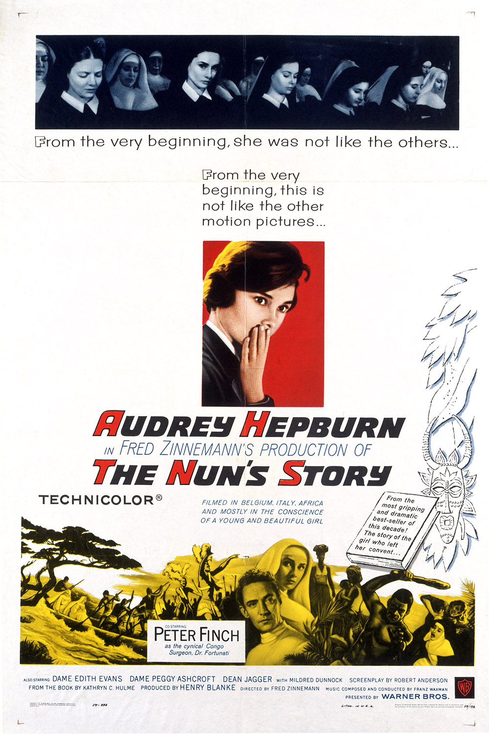 The Nun's Story - One-sheet poster