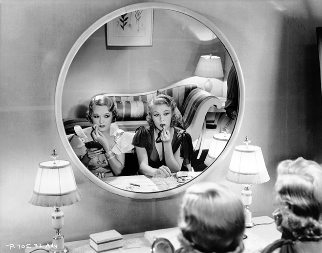 Marian Nixon and Ginger Rogers