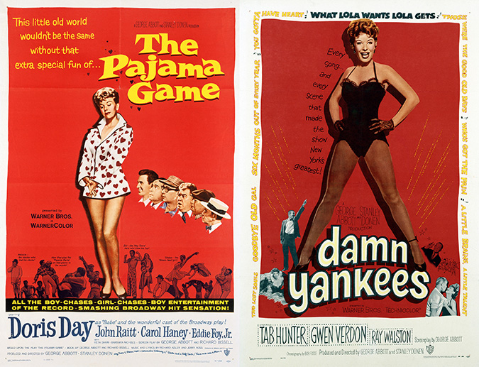 The Pajama Game (1957) and Damn Yankees (1958)