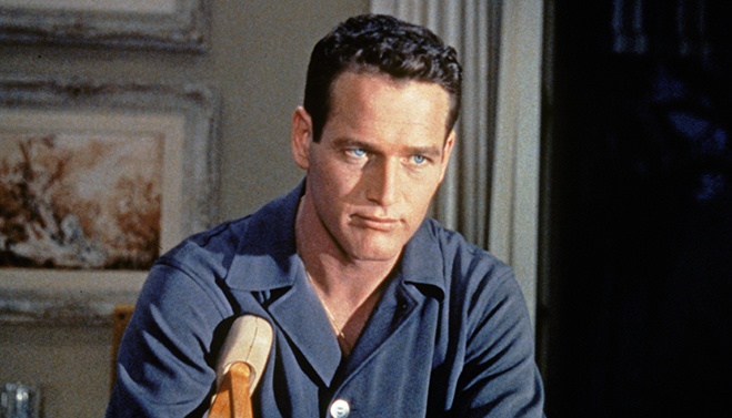 paul newman in 1958's cat on a hot tin roof