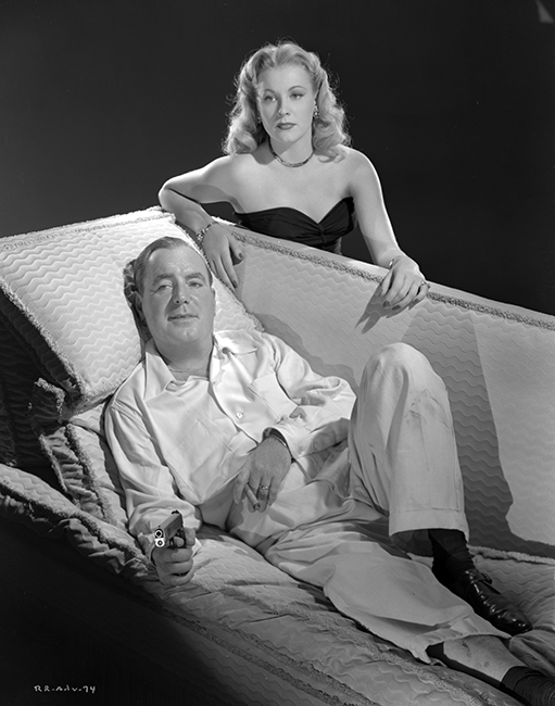 Anne Jeffreys and Pat O'Brien in RiffRaff