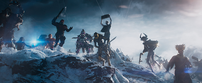 a scene from Ready Player One.