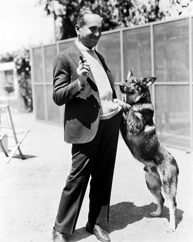 Rin Tin Tin and Al Jolson
