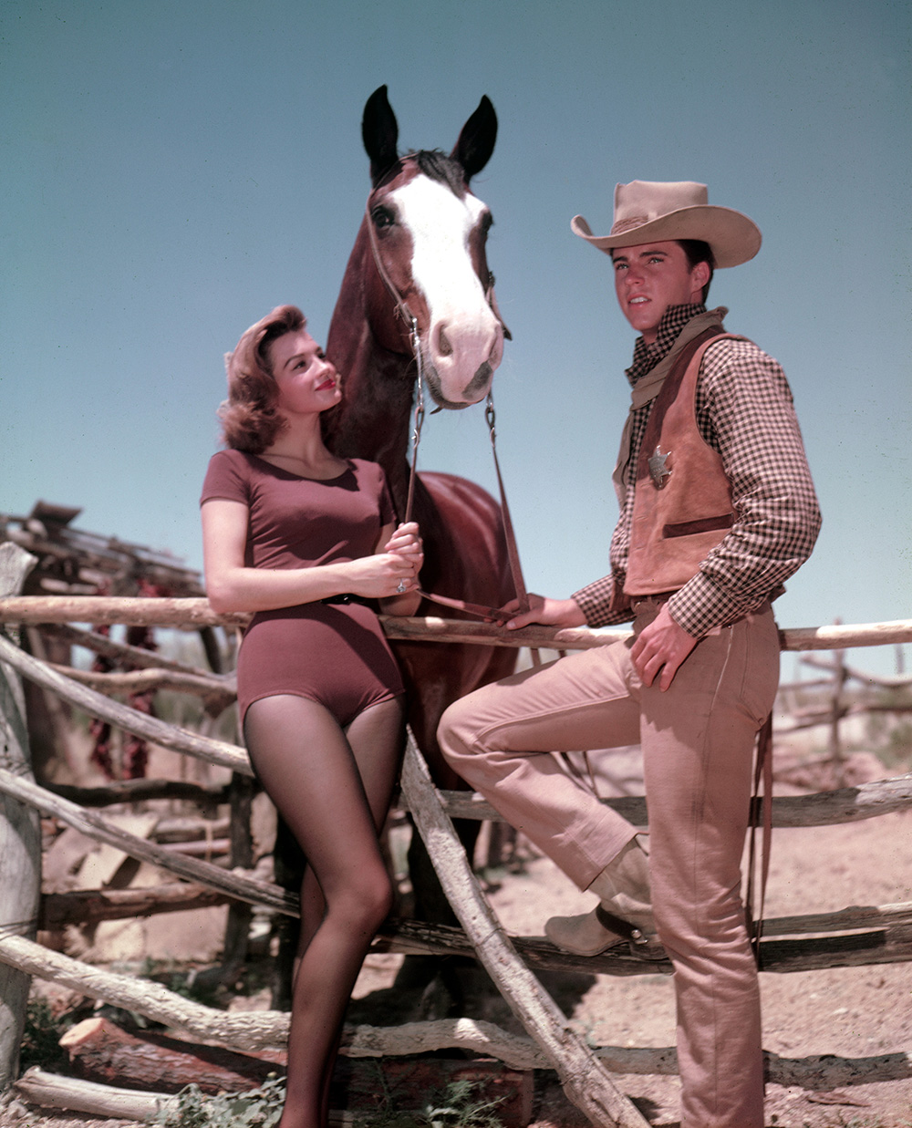 Rio Bravo Angie Dickinson and Ricky Nelson
